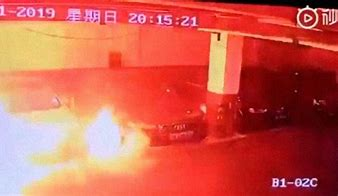 Tesla on Fire - China